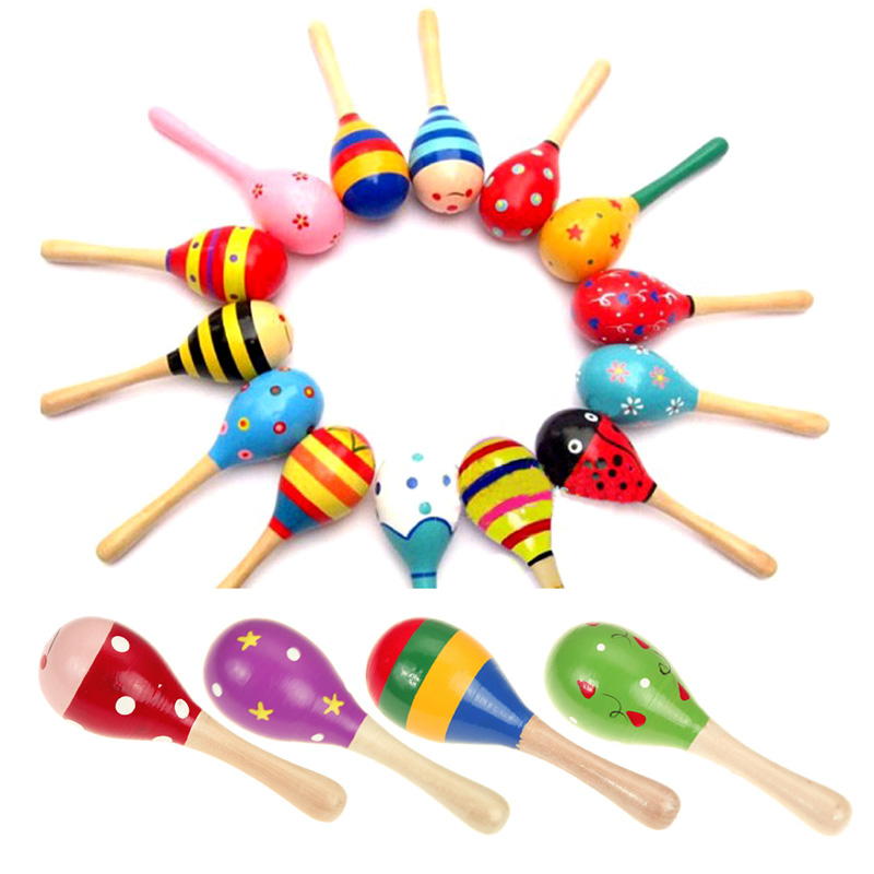 Wooden Musical Toys : Aliexpress buy musical wooden colorful toys cute