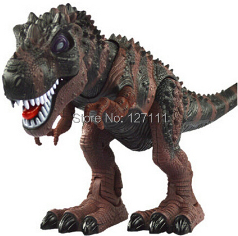 Electric toy large size walking dinosaur robot With Light Sound Tyrannosaurus Rex  kids toys 1pcs