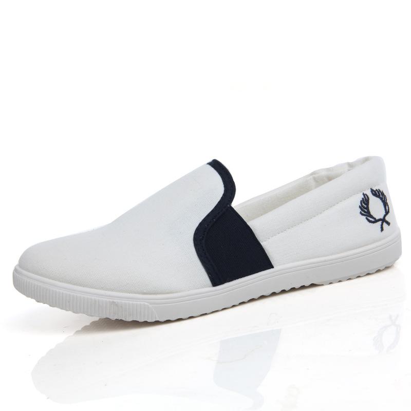 Spring Autumn Canvas Shoes Women Fashion Flats Soft Comfortable Women's White Cute - Happy hour 100% store