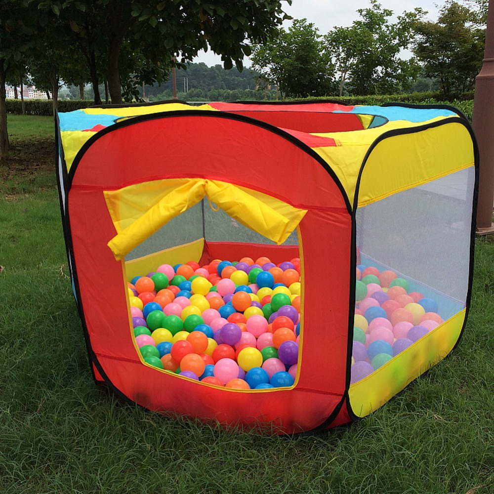 Play house indoor and outdoor easy folding ball pit Tent a house