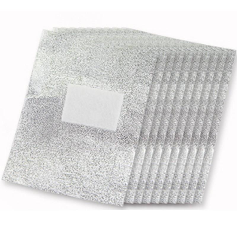 Гаджет  100pcs Aluminium Foil Nail Art Soak Off Acrylic Gel Polish Nail Wraps Remover None Красота и здоровье
