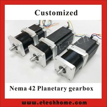 Buy 3:1 5:1 8:1 NEMA 42 Planetary Geared Stepper Motor 30N.m (4167oz-in) Motor Length 201mm CNC Stepping Motor CE ROHS for $274.80 in AliExpress store