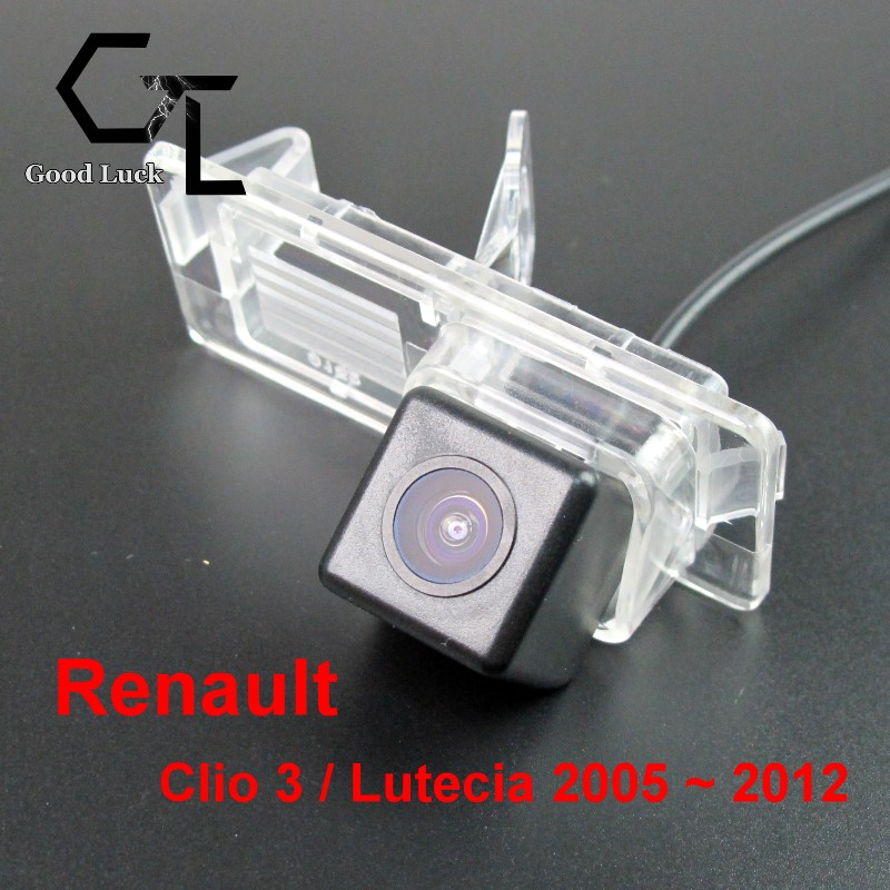 For Renault Clio 3 / Lutecia 2005 ~ 2012 wireless Car BackUp Parking Assistance CCD HD Night Vision Rear View Camera(China (Mainland))
