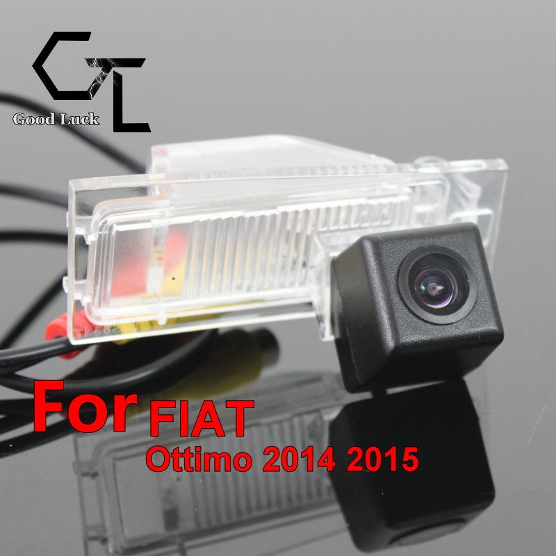 For FIAT Ottimo 2014 2015 wireless Car Auto Reverse Backup CCD HD Night Vision Wide Angle Rear View Camera(China (Mainland))