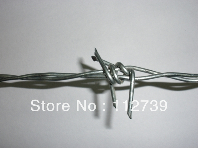 PVC coated barbed wire, 12*12wire guage, galvanizedl wire, Anping professional supplier, traditional twist