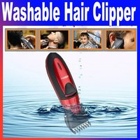 washable rechargeable baby adult hair clipper Trimmer HC-001 With Retail Box Free Shipping