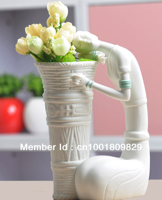 Manual Ceramic sculpture-Home/room Decoration Vase (Free Shipping)