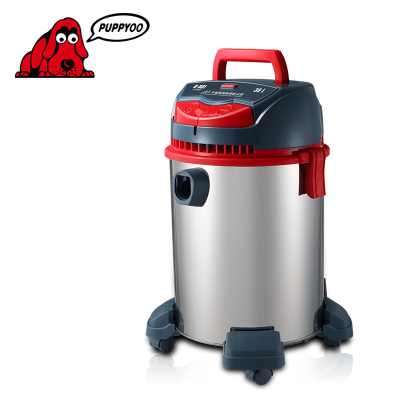 High Power Suction Dust Collector Catcher Commercial Home Office Vacuum Cleaner wet and dry 1400W 5m HEPA 220V D-801 PUPPYOO()