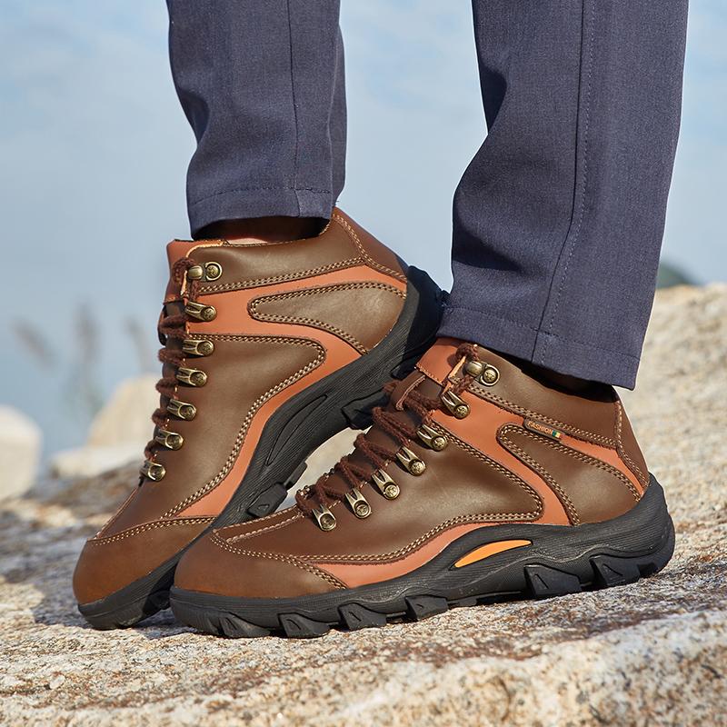 mens womens mountaineer shoes wear non slip bottom