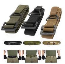 48″ Canvas Military Tactical Men Belt w/ Black Slider Buckle 3 Colors Newest Fashionable Nice Shades Super Quality 2015 Hot Sale