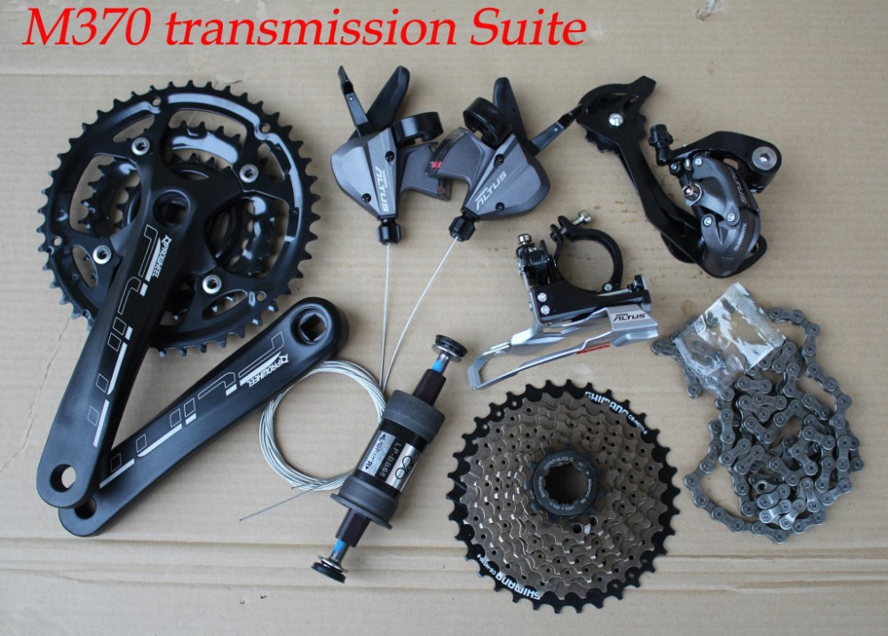 New M370 transmission Suite / 27 speed mountain bike gear