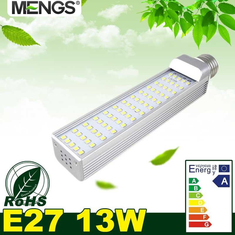MENGS E27 13W LED Light 65x 2835 SMD LEDs LED Bulb Lamp with Warm White / Cool White Energy-saving lamp(China (Mainland))