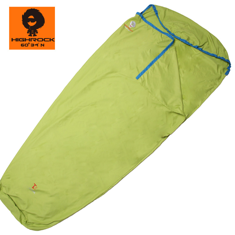 Tianshi highrock outdoor ultra-light sleeping bag mummy hooded liner - sleeping bag(China (Mainland))