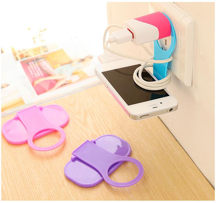 Portable Foldable mobile phone charge mount holder stand monopod stick suporte celular carro gadgets tripod support(China (Mainland))