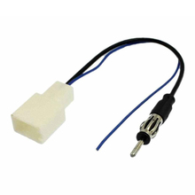 Car Antenna Plug to FM Radio Stereo Adapter Refitting Wire Free shipping Hot sale!(China (Mainland))
