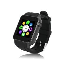 Teléfono Móvil GSM Reloj inteligente Reloj S69 Smartwatch Bluetooth TF Radio FM Tarjeta SIM Dispositivo Portátil para iOS Android Ruso español