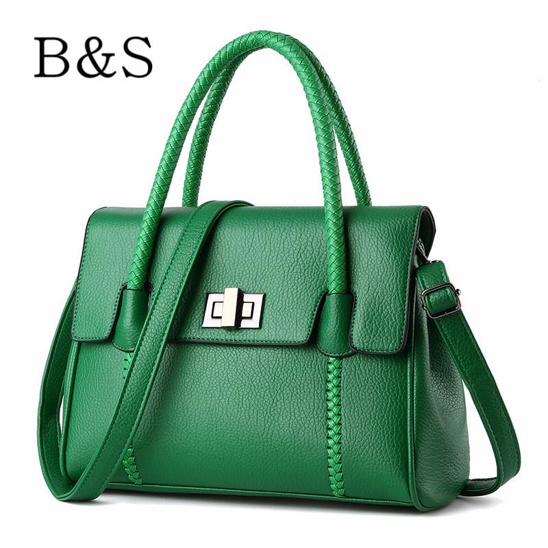 2016 New Design High Quality Women Bags Vintage Brand Leather Handbag European and American Fashion Female Messenger Bag Kabelka(China (Mainland))