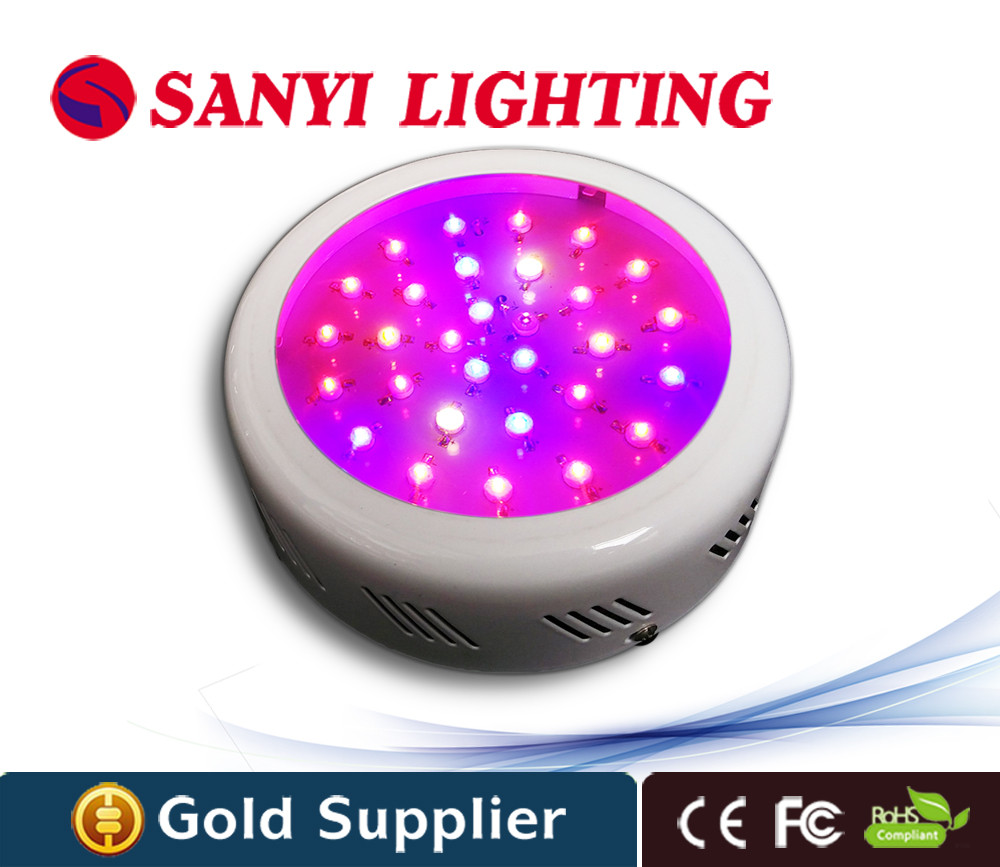 Best Hydroponic UFO Led grow light 90W with red blue Plant Growing Light lamp for indoor garden Veg and Blooming(China (Mainland))