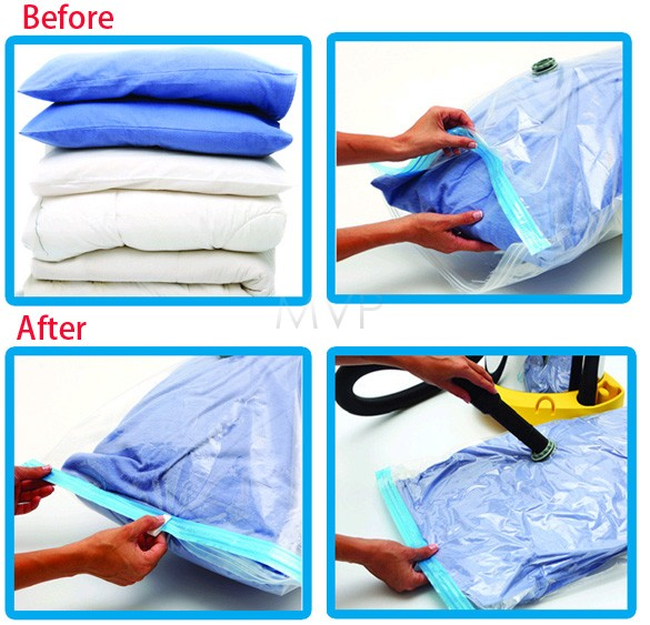 2015 New 5pcs/pack Jumbo Seal Vacuum Compression Bag Storage Organizer Space Saver Storage Bags 25(China (Mainland))