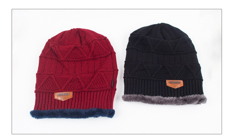 2015 Beanies & Skullies Knit Men's Winter Hat Caps Bonnet Winter Hats For Men Women Beanie Warm Casual Cap