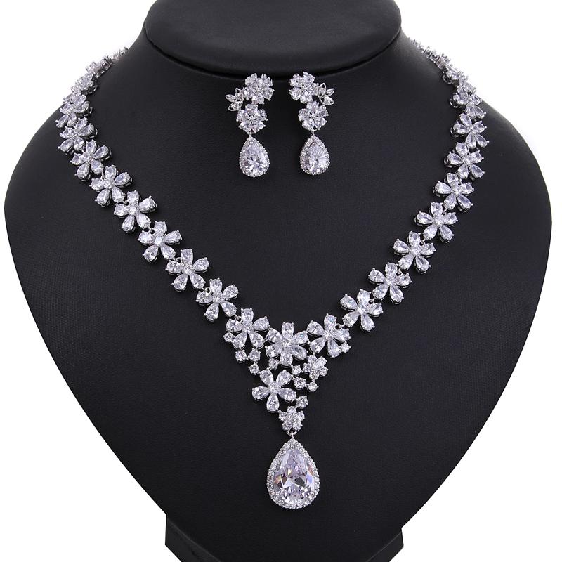 costume accessories top quality cubic zirconia diamond bridal jewelry