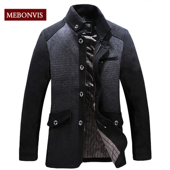Free shipping, woolen coat jacket, wholesale, Spring and Autumn and long sections, men's jackets and coats, Business and Leisure