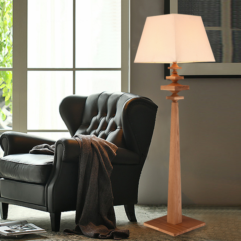 American country living room floor lamp bedroom modern for Floor lamps for living room