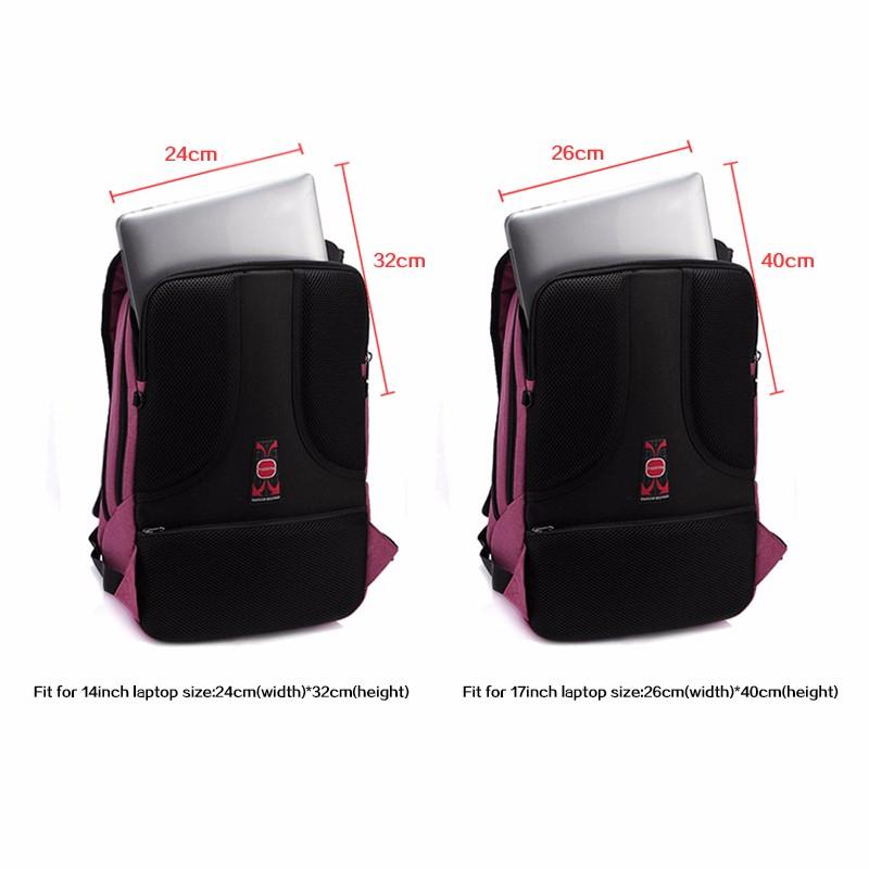 2016 New Designed Brand Cool Urban Backpack Men Unisex Light Slim Minimalist Fashion Backpack Women 14″ 15″ Laptop Backpack