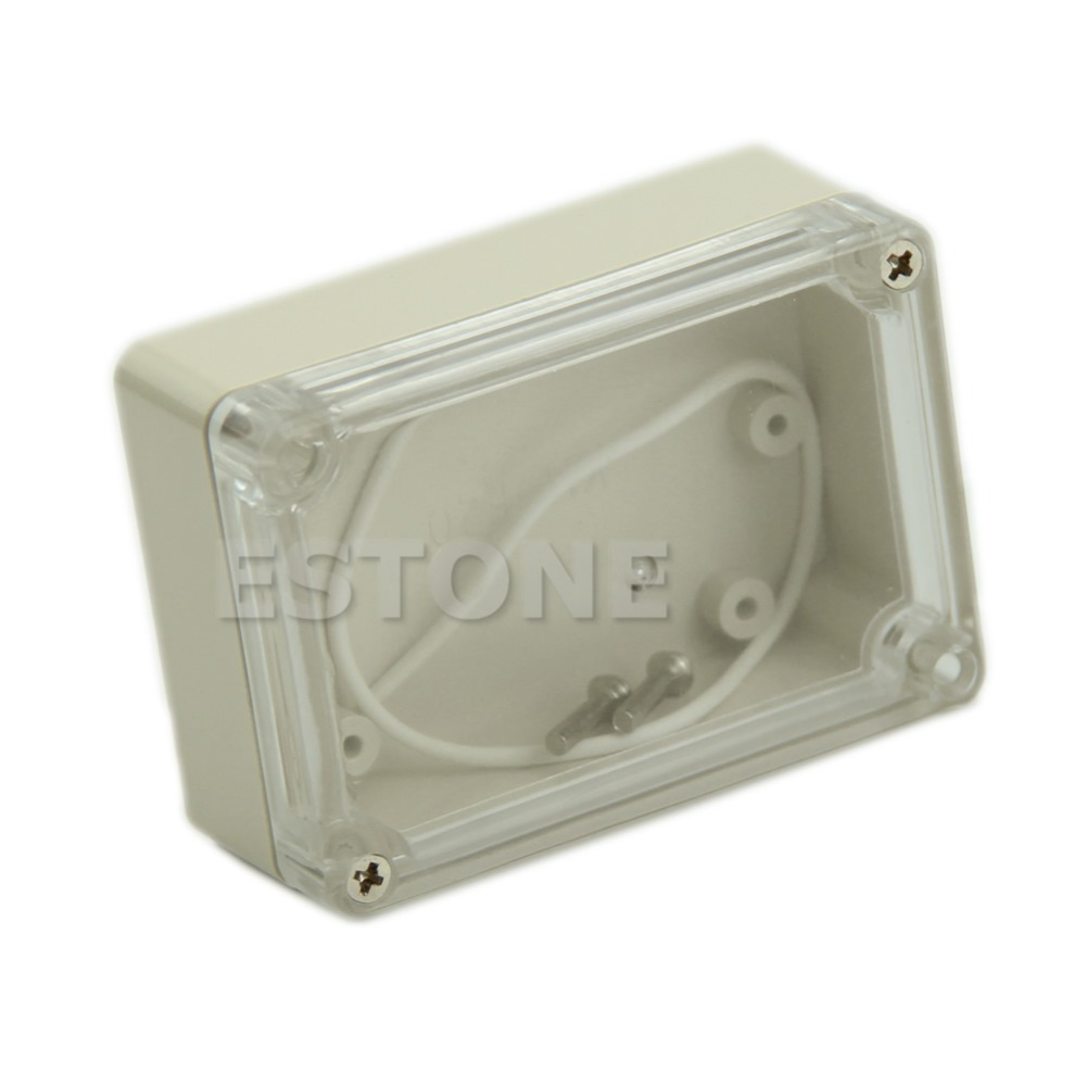 N94 85x58x33mm Waterproof Clear Cover Plastic Electronic Project Box Enclosure CASE(China (Mainland))
