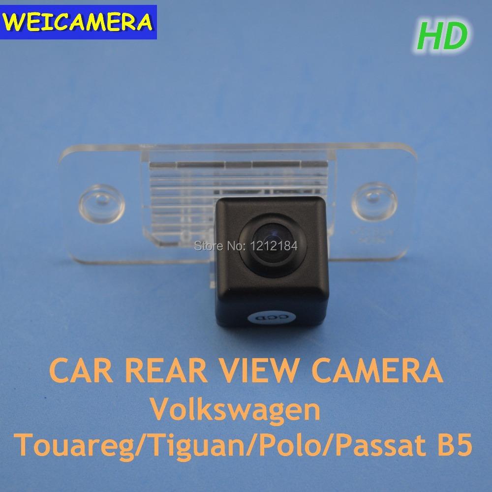 CCD HD Chip Car Rear View Reverse Parking CAMERA VW Touareg Tiguan Polo Passat B5 Waterproof - WEICAMERA Electronic store