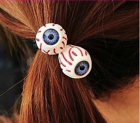 Min Order $15(mixed order)Fashion HARAJUKU eyes headband hair rope headband    NRT7302