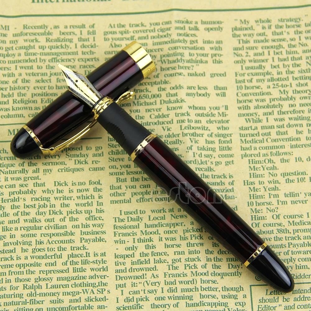 Гаджет  JINHAO x450 Lava Red Medium Nib Fountain Pen New # Lava Red  None Офисные и Школьные принадлежности