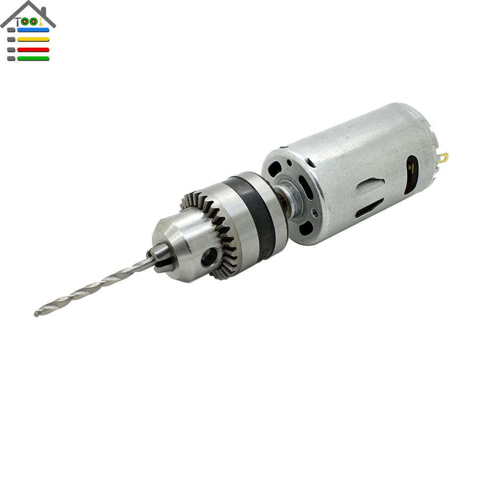 Heavy duty dc12 24v electric motor hand drill pcb press for Heavy duty dc motor