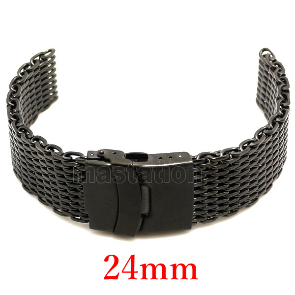 24mm Belt Hours Watch Band Stainless Steel Bracelet Women Men banda de reloj GD010924 - Guangzhou Conbays Technology Co., Ltd. store