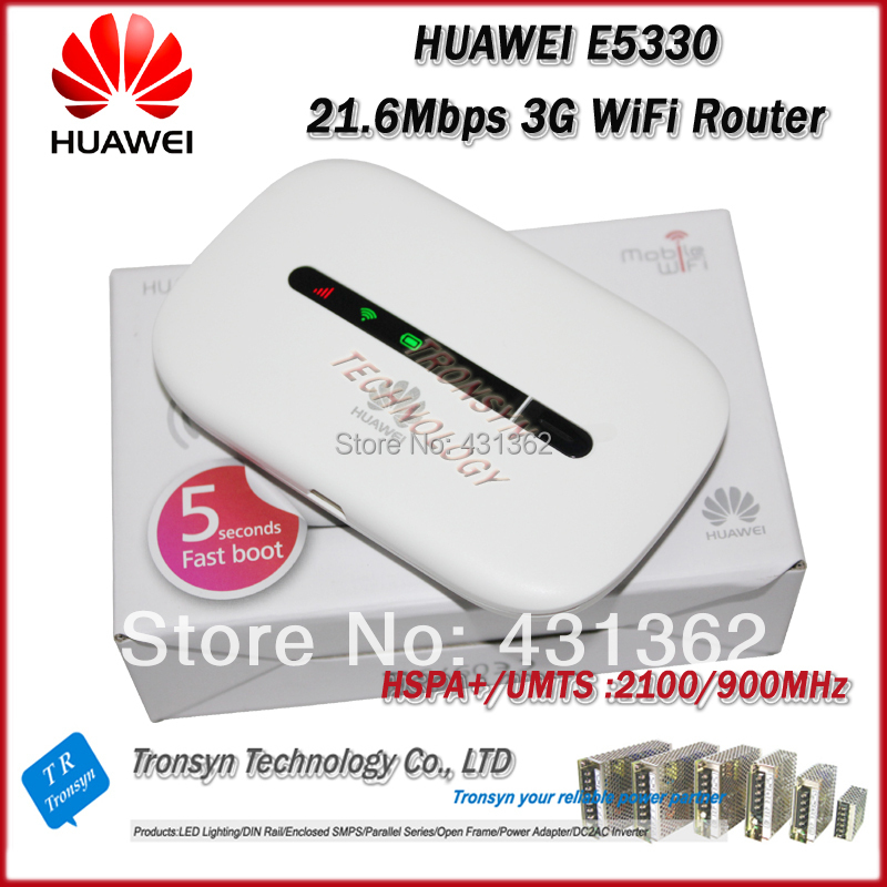 Free Shipping 2014 New Arrival Original Unlock HSPA+ 21.6Mbps HUAWEI E5330 Mini Portable 3G WiFi Router And Mobile WiFi Router(China (Mainland))