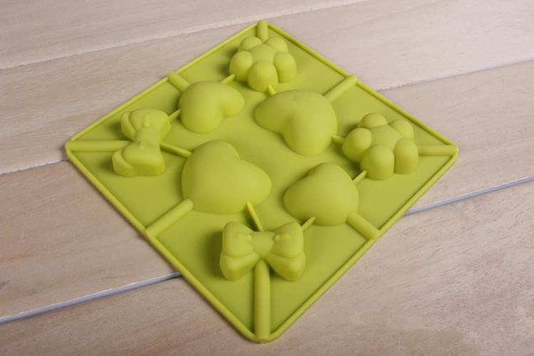 cake decorating tools silicone bakeware molds lollipop ...