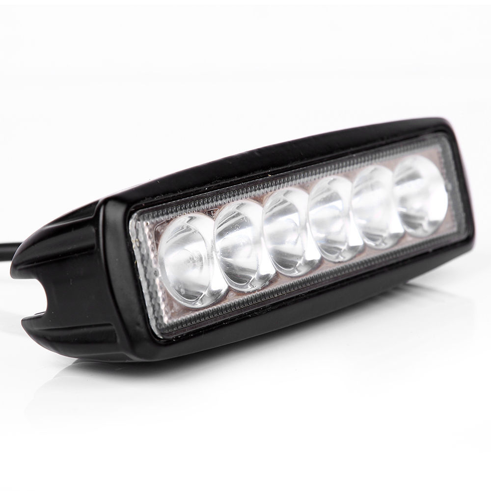 Mini 6 inch LED Light Bar 18W Offroad Worklight Flood Spot Boating Hunting Fishing Truck Motorcycle 12V 24V - Good quality and cheapest store