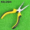 KELUSHI 6 150mm Long Nose Pliers Wire Strippers Cutting Multi Purose Herramientas Shear Shar p Hand