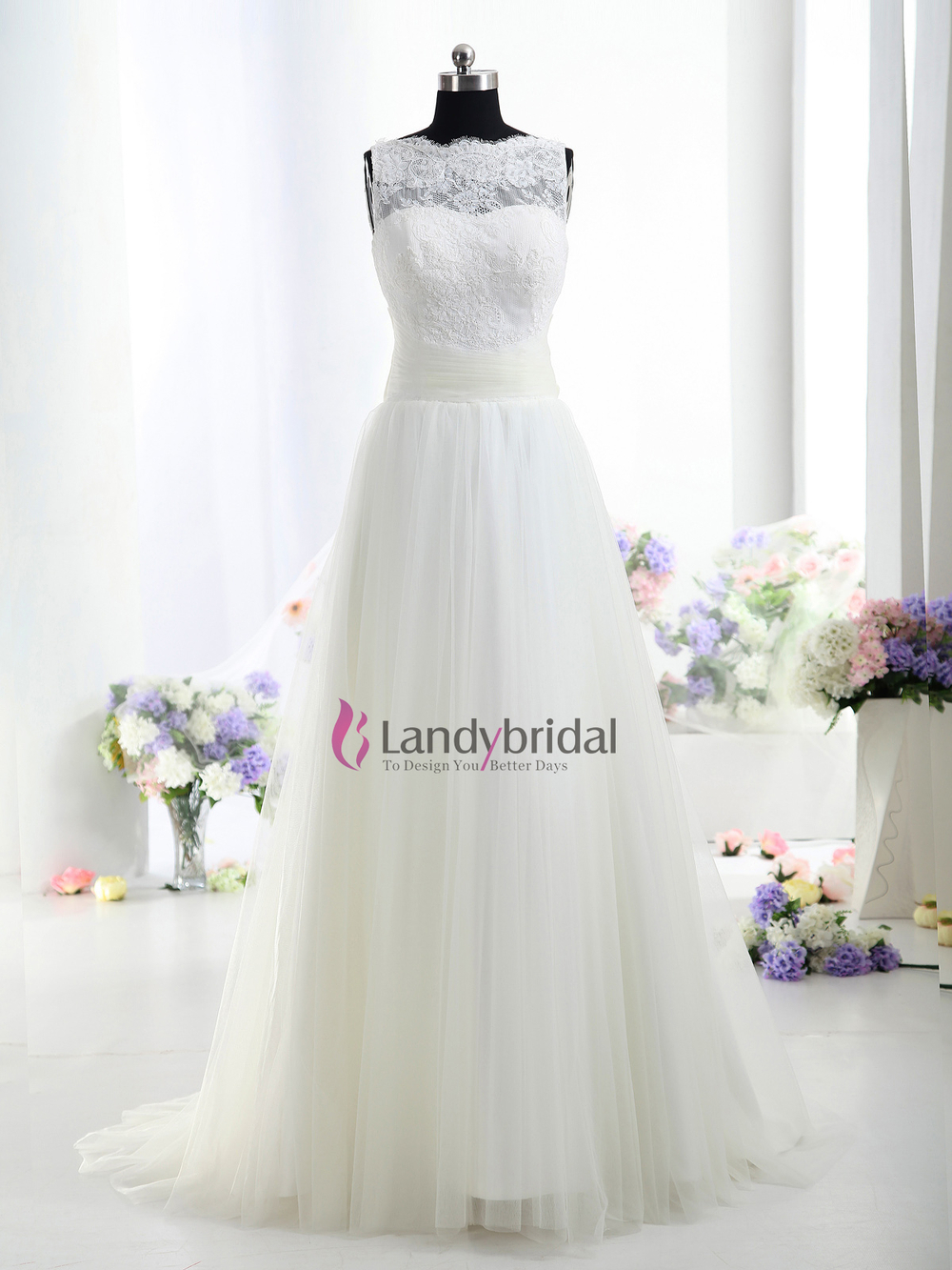 Buy Lastest Style High Nekline Lace