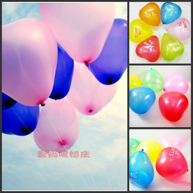 Wedding supplies heart balloon 10 to celebrate the love marriage balloon