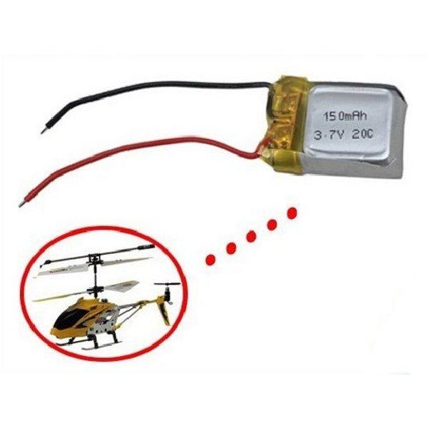 Syma S107 S107G 3.7V 150mAh Li-Poly Battery Helicopter Part(China (Mainland))