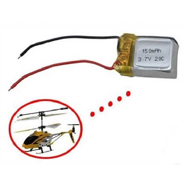 Syma S107 S107G 3.7V 150mAh Li-Poly Battery Helicopter Part(China (Mainland))
