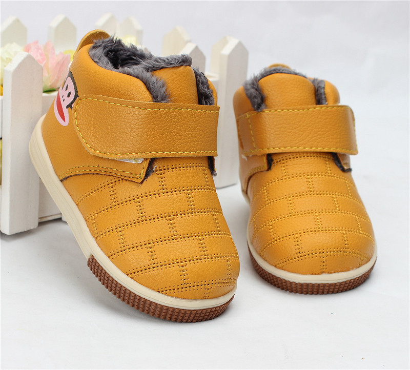 1 2 years old Baby Cotton padded Shoes Child Shoes Male