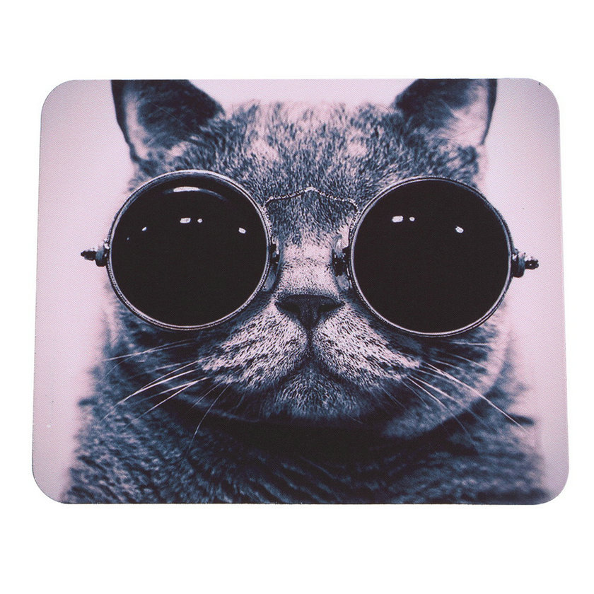 HOT Selling Cat Picture Anti-Slip Laptop PC Mice Pad Mat Mousepad For Optical Laser Mouse Promotion!