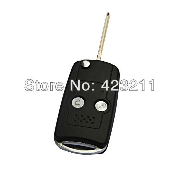 Flip Folding Remote Key Shell Case For Toyota Corolla Vios Rav4 Prado 2BT  FT0266