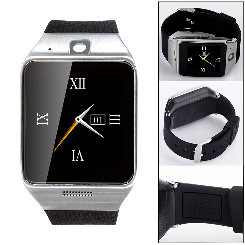 New L-128 Smart Watch Bluetooth GSM SIM Card NFC Gmail Facebook Wrist Smartwatch For Android IOS iPhone HTC Samsung LG Sony(China (Mainland))