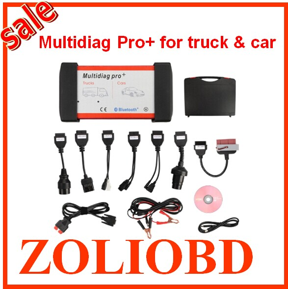 2016 DHL free V2014.03 Bluetooth Multidiag Pro+ interface Cars/Trucks OBD2 4GB Card + Car Cables Multi-diag scanner - ZL Obdtoolshop Co.,Ltd. store