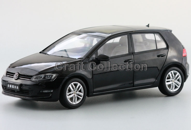 Black 1:18 Volkswagen VW Golf TSI 7 Hatchback Alloy Model Diecast Show Car Classic toys Scale Models Edition Limit(China (Mainland))
