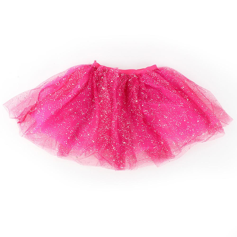 Lovely Kids Girls Princess Short Tutu Skirt Bling Tulle Party Ballet Dance  2015
