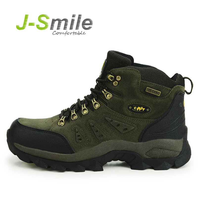 trekking shoes man Brand Men's hiking shoes anti-skid mountain climbing boots outdoor athletic breathable men  waterproof